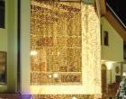 Уличные светодиодные гирлянды на солнечных батареях для дачи и сада