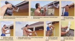 Как сделать водосток с крыши, инструктаж