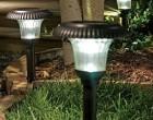 Современное использование уличных светильников на солнечных батареях