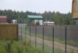 Как установить забор из сетки-рабицы?
